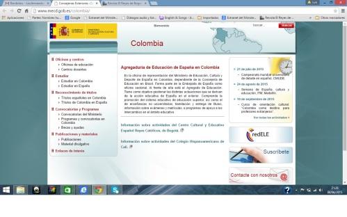 CCEE Reyes Catolicos. Agregaduria de Educaciòn