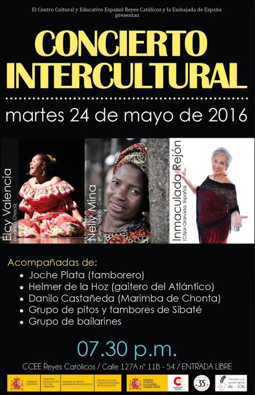 redes CONCIERTO INTERCULTURAL 2016