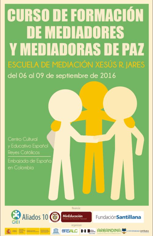 redes CURSO DE FORMACION DE MEDIADORES Y MEDIADORAS DE LA PAZ 2016