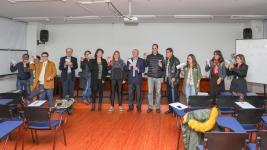 Foto de algunos del público presente