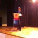 Don Jaime Prieto Prieto en su intervención
