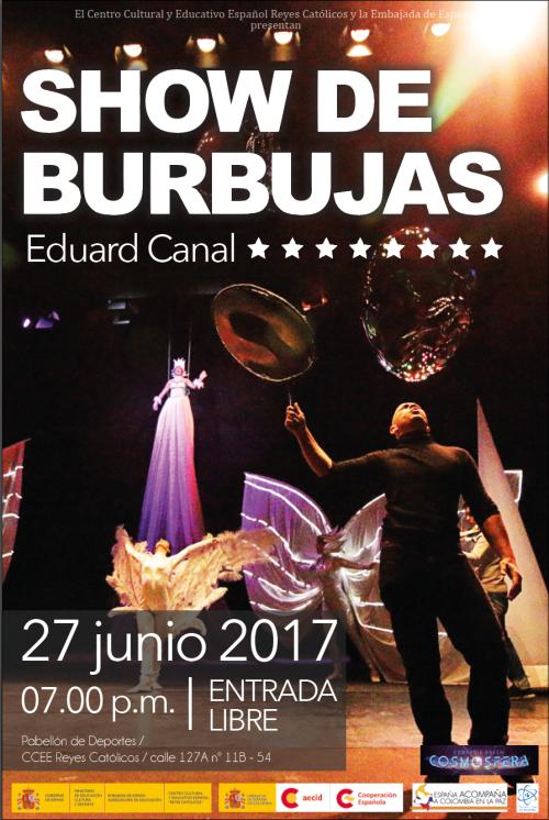 redes SHOW DE BURBUJAS