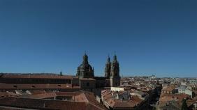 Vista de Salamanca desde la cubierta de la catedral