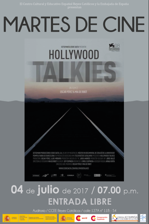 redes HOLLYWOOD TALKIES